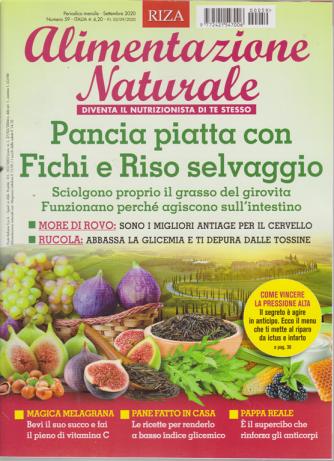 Alimentazione naturale - n. 59 - mensile - settembre 2020