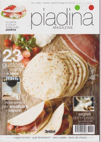 Piadina Magazine - n. 1 - semestrale - dicembre 2017/maggio 2018