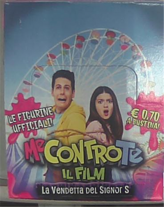 Bustina figurine  Me Contro Te Il Film - La Vendetta Del Signor S