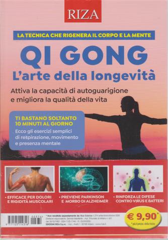 Riza Scienze - n. 374 - Qi Gong - L'arte della longevità -  settembre - ottobre 2020 -