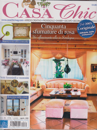 Casa Chic + Vivere Country - n. 170 - mensile - agosto 2020 - 2 riviste