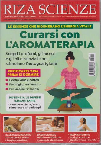 Riza Scienze - Curarsi con l'aromaterapia - n. 374 - settembre - ottobre 2020 - bimestrale
