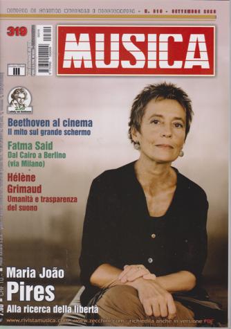 Musica - n. 319 - settembre 2020 - mensile