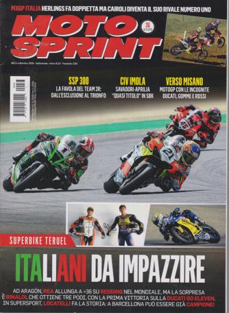Motosprint - n. 36 - 8/14 settembre 2020 - settimanale