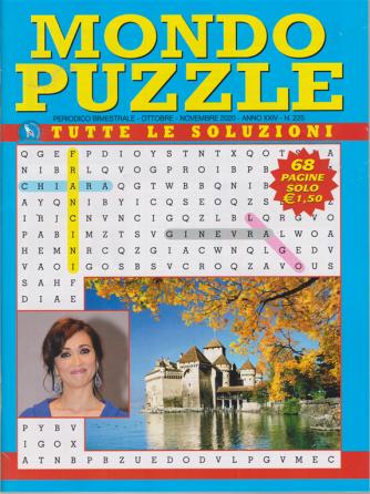 Mondo Puzzle - n. 225 - bimestrale - ottobre - novembre 2020 68 pagine