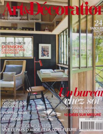 Art & Decoration - n. 552 - settembre 2020 - mensile - in lingua francese