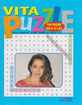 Vita Puzzle - n. 90 - trimestrale - ottobre - dicembre 2020 - 196 pagine
