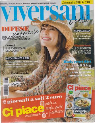 Viversani e  Belli + - Ci Piace Cucinare! - n. 38 - settimanale - 11/9/2020 - 2 riviste