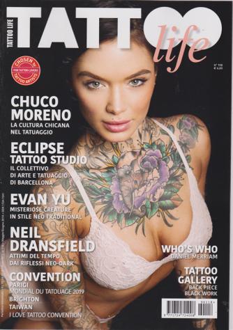 Tattoo Life - n. 118 - bimestrale - maggio - giugno 2019 -