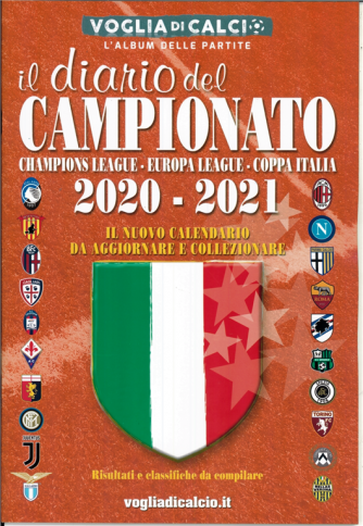 Voglia Di Calcio - il Diario dei campionati 2020-21 cm. 20x29