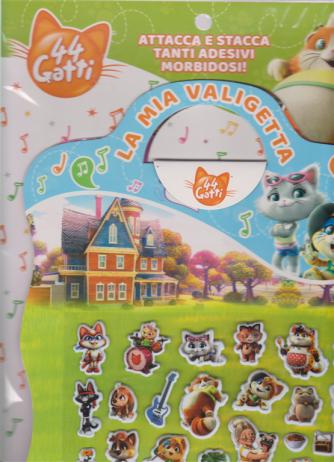 Young Collection - La Mia Valigetta 44 gatti  con stickers - n. 29 - 15 aprile 2019 - bimestrale