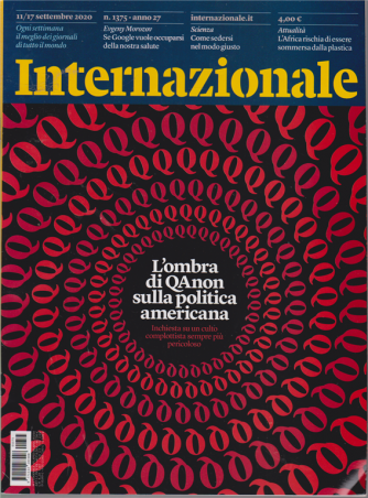 Internazionale - n. 1375 - 11/17 settembre 2020 - settimanale
