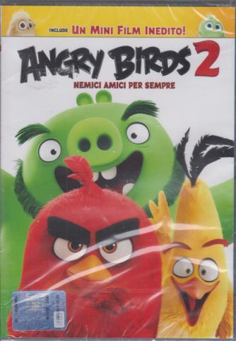 I Dvd Kids di Sorrisi - Angry Birds 2 - Nemici amici per sempre - n. 16 - settimanale - ottobre 2020