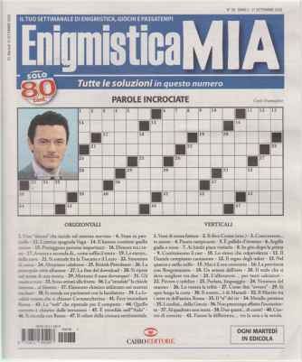 Enigmistica Mia - n. 38 - 21 settembre 2020 - settimanale