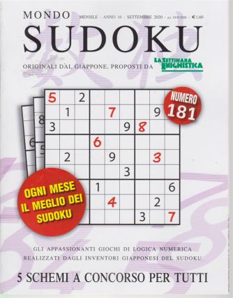 Mondo Sudoku - n. 181 - mensile - settembre 2020 -