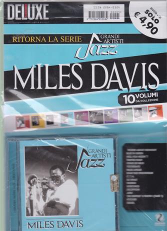Saifam Music Deluxe Var 80 - Ritorna la serie i grandi artisti jazz Miles Davis - rivista + cd