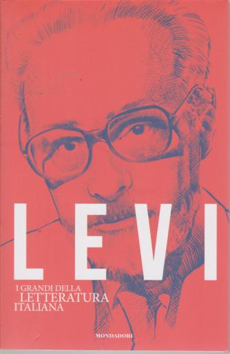 I grandi della letteratura italiana - Levi - n. 21 - settimanale - 15/9/2020 -