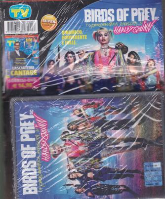 Sorrisi e canzoni tv + il dvd Birds of prey e la fantasmagorica rinascita di Harley Quinn - rivista + dvd