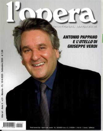 L'opera internationalMagazine - mensile n. 51 Settembre 2020 - Antonio Pappano