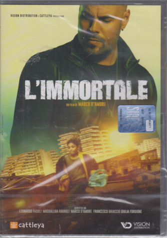 I Dvd Fiction di Sorrisi 2 - n. 24 -L'immortale -  15/9/2020 - settimanale