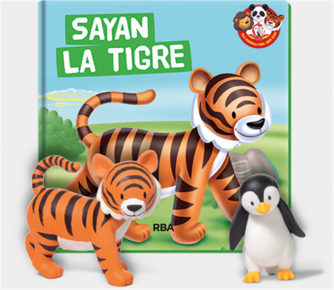 Gli animali dello Zoo vol. 2 Sayan la tigre by RBA Italia
