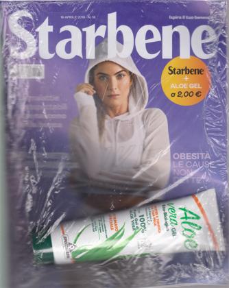 Starbene + Aloe gel - n. 18 - 16 aprile 2019 - settimanale