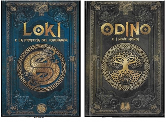 Mitologia Nordica 2° uscita - Odino + Loki by RBA Italia