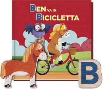 Impara l'alfabeto vol. 2Lettere B - Ben Va In Bicicletta by RBA Italia