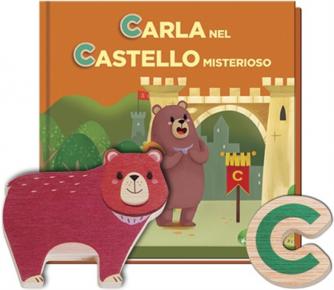 Impara l'alfabeto vol. 3 Lettere C - Carla nel Castello Miste... by RBA Italia