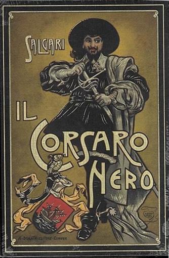 Collana  RBA Italia Emilio Salgari vol. 2 - il corsaro nero