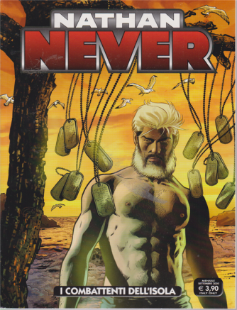 Nathan Never - I Combattenti dell'isola - n. 352 - mensile - settembre 2020