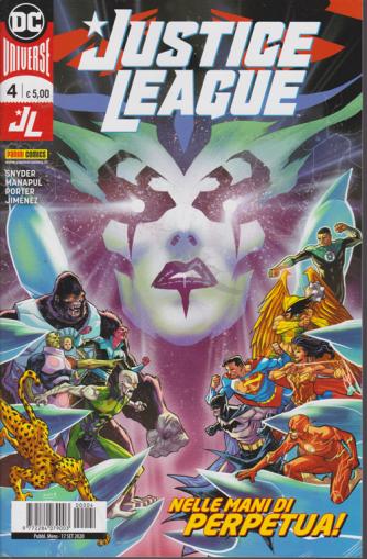 Justice League - Nelle mani di Perpetua! - n. 4 - mensile - 17 settembre 2020
