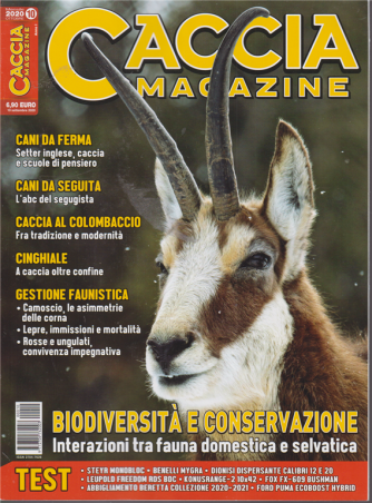 Caccia Magazine - n. 10 - mensile - ottobre 2020
