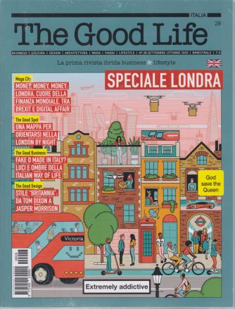 The Good Life - n. 28 - settembre - ottobre  2020 - bimestrale + Svizzera - 2 riviste