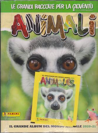 Album animali + Focus Junior - n. 10 - 18/9/2020 - album + rivista