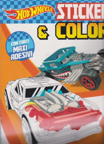 Sticker & Color - Hot Wheels - n. 33 - 5/9/2020 - bimestrale