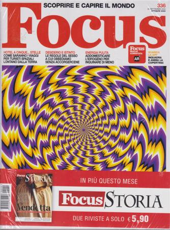 Focus + Focus Storia - n. 336 - ottobre 2020 -mensile -  2 riviste
