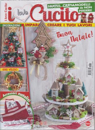 I Love Cucito  Extra - n. 31 - bimestrale - ottobre - novembre 2020