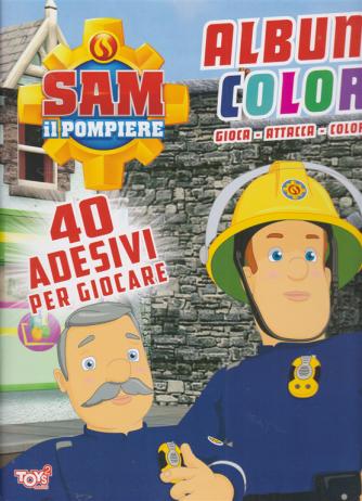 Toys2 Sticker - Sam il pompiere - Album color - n. 44 - bimestrale - 17 settembre 2020
