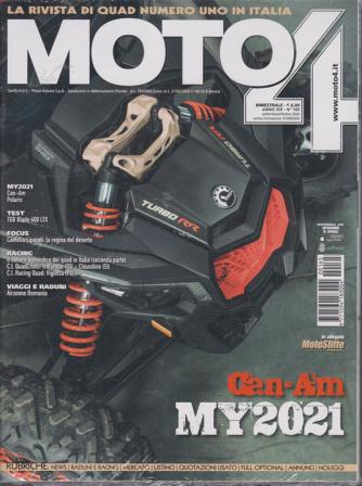 Moto 4 - n. 165 - bimestrale - settembre - ottobre 2020