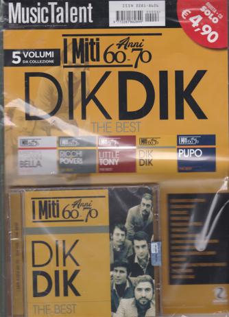 Music Talent Var.89 - I miti anni 60 - 70 - Dik Dik the best - rivista + cd