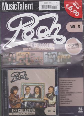Music Talent Var.90 - Pooh - The collection - La storia dei Pooh - n. 3 - rivista + cd -