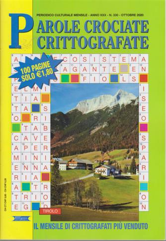 Parole Crociate crittografate - n. 330 - mensile - ottobre 2020 - 100 pagine