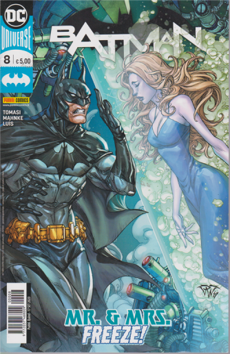 Batman - n. 8 - Mr. G. Mrs. Freeze! - quindicinale - 17 settembre 2020