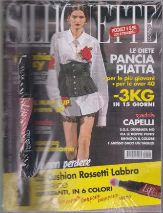 Silhouette Donna  Pocket - + Lip Cushion Rossetto labbra  - n. 10 - ottobre 2020 - mensile