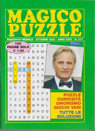 Magico Puzzle - n. 317 - mensile - ottobre 2020 - 100 pagine