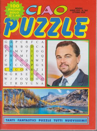 Ciao Puzzle - n. 365 - mensile - ottobre 2020 - 100 pagine