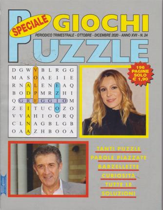 Speciale Giochi Puzzle - n. 24 - trimestrale - ottobre - dicembre 2020 - 196 pagine