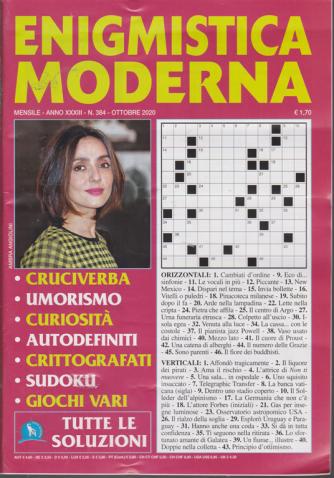 Enigmistica Moderna - n. 384 - mensile - ottobre 2020 -