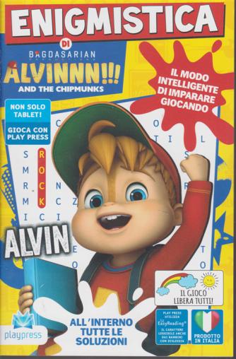 Enigmistica di Alvinnn!!!  - And the chipmunks - n. 8 - ottobre - novembre 2020 - bimestrale